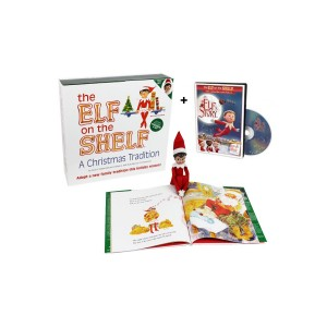 The Elf on the Shelf, Elf, Book and Elf Story DVD